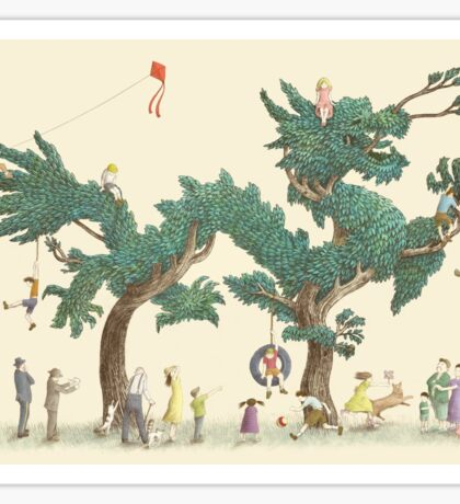 The Night Gardener - Dragon Tree Sticker