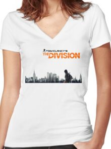 Tom Clancy's The division Women's Fitted V-Neck T-Shirt