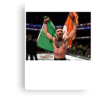 FAN ART - Conor McGregor UFC Champ Canvas Print