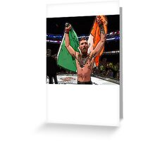 FAN ART - Conor McGregor UFC Champ Greeting Card