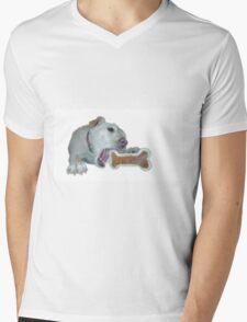 cute dog enjoys its bone T-Shirt