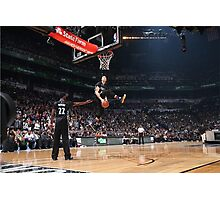 Zach LaVine Slam Dunk Contest 2016 Photographic Print