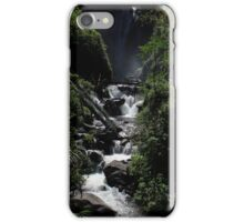 Rapids at the Peguche Falls iPhone Case/Skin
