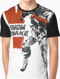 MGSV Retro Venom Snake Graphic T-Shirt