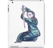 Martial Arts Lady 3 iPad Case/Skin