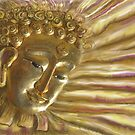 Golden Radiant Buddha by DAdeSimone