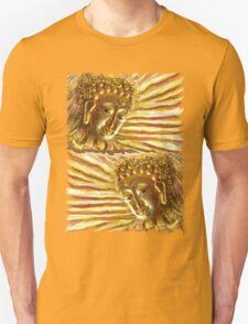 Golden Radiant Buddha Unisex T-Shirt