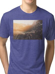 Is this real landscape photography Tri-blend T-Shirt