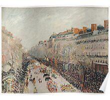 Camille Pissarro - Mardi Gras on the Boulevards 1897 Poster