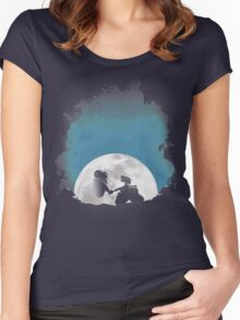 Space Love Women's Fitted Scoop T-Shirt