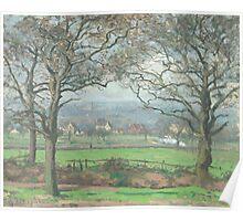 Camille Pissarro - Near Sydenham Hill 1871 Poster