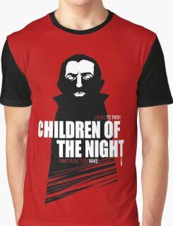 Children of the Night Walk Home Alone... At Night. Graphic T-Shirt