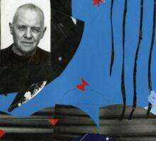William S. Burroughs my work 11 Sticker
