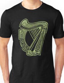 Celtic Harp Unisex T-Shirt