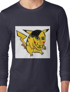 WORST PIKACHU EVER Long Sleeve T-Shirt