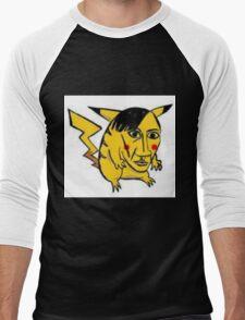 WORST PIKACHU EVER Men's Baseball ¾ T-Shirt