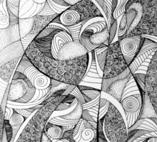 Infinite reality, 2015, 20-50cm, ink on paper Sticker