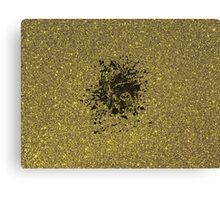 Glitter Gorilla Canvas Print