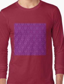 Purple Artwork Long Sleeve T-Shirt