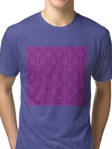 Purple Artwork Tri-blend T-Shirt