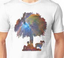 Resting in the Nebula. Unisex T-Shirt