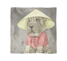 Shar Pei on The Great Wall Scarf