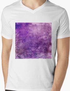 Purple Design Mens V-Neck T-Shirt