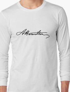 Alexander Hamilton Signature Long Sleeve T-Shirt