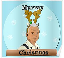 Murray Christmas Poster