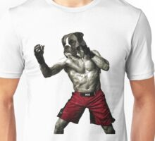 The boxer fighter Unisex T-Shirt