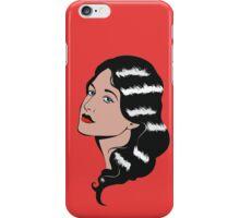Girl in Pop Art style iPhone Case/Skin