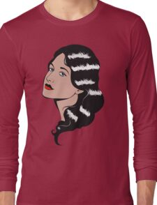 Girl in Pop Art style Long Sleeve T-Shirt