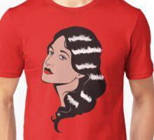 Girl in Pop Art style Unisex T-Shirt