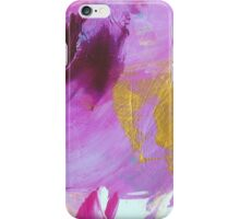 Abstract Painting in mauve and gold 01/18 iPhone Case/Skin