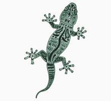 Ornate Lizard Kids Tee