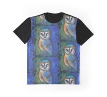 Nite Owl black Graphic T-Shirt