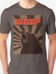 woof. Russian bear. T-Shirt