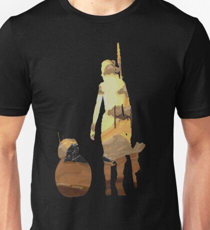 STAR WARS VII- BB8 and Rey Unisex T-Shirt