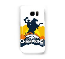 Denver Broncos World Champions! Samsung Galaxy Case/Skin