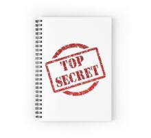 Top Secret - Stamp Spiral Notebook