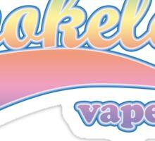 Vape Design Swoosh Smokeless Color Sticker