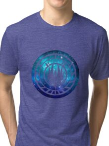 Battlestar Galactica Colonial Seal Tri-blend T-Shirt