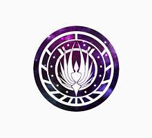 Battlestar Galactica Colonial Seal Purple Unisex T-Shirt