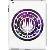 Battlestar Galactica Colonial Seal Purple iPad Case/Skin