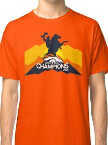 Denver Broncos World Champions! Classic T-Shirt