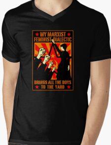 Marxist Mens V-Neck T-Shirt