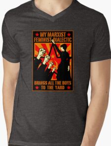 Marxist Mens V-Neck T-Shirt