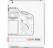 love EOS iPad Case/Skin