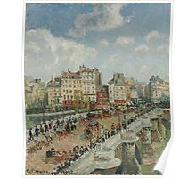 Camille Pissarro - The Pont-Neuf 1902 French Impressionism Landscape Poster
