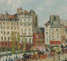 Camille Pissarro - The Pont-Neuf 1902 French Impressionism Landscape Sticker